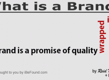 Great definition of a brand | Reid Neubert